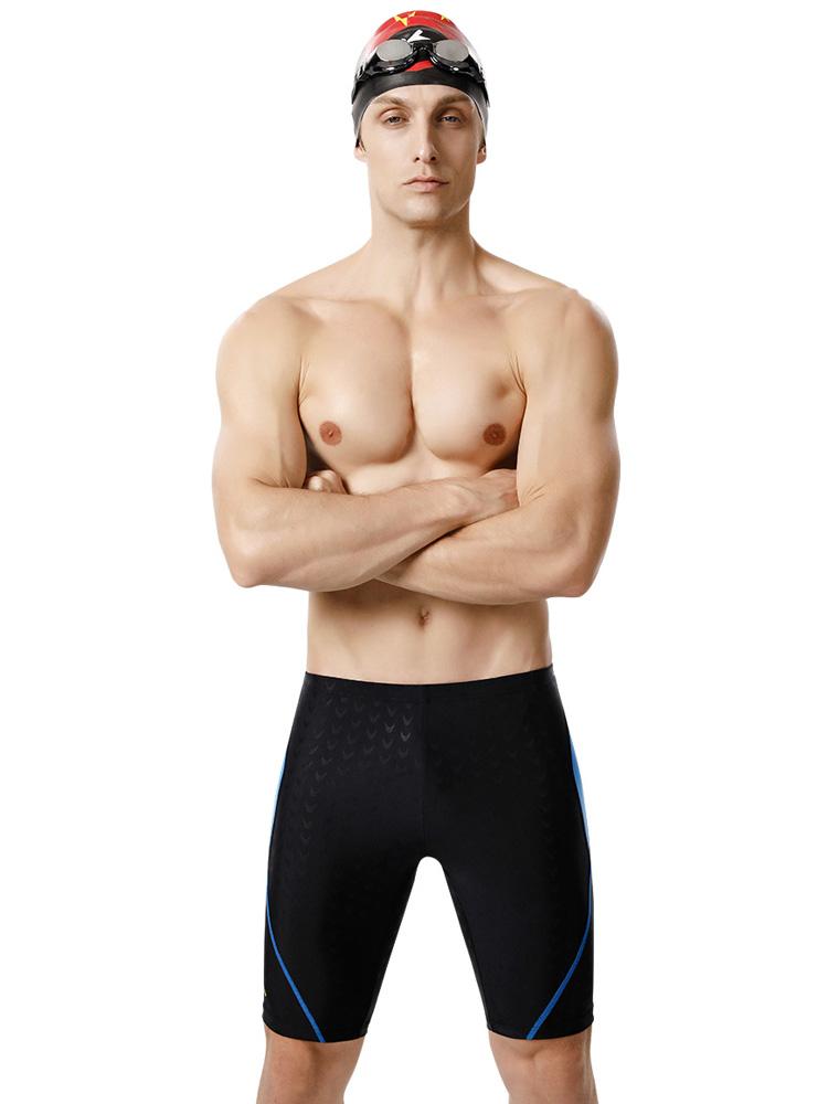 Y3808,图片4,休闲男士五分中脚泳裤