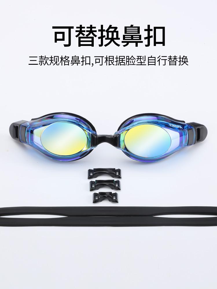 Y680AF(V),图片2,防雾炫彩镀膜泳镜