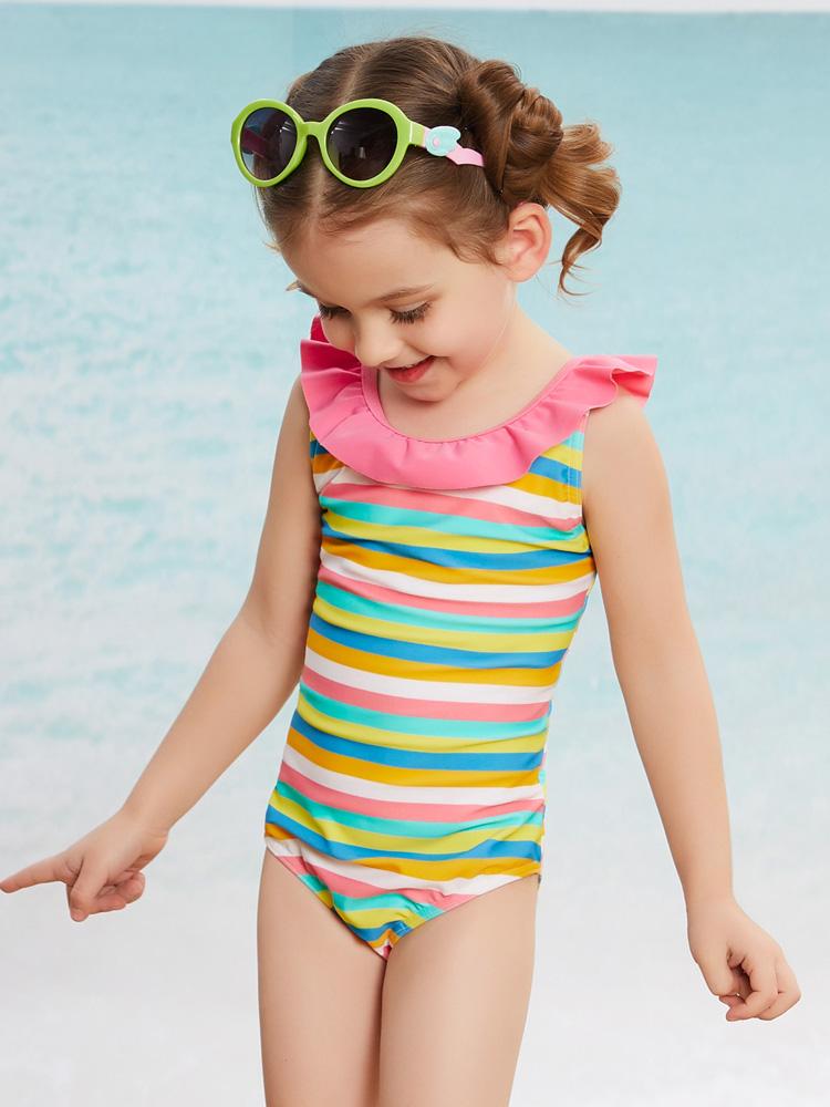 Y0502,图片2,宝宝三角泳衣