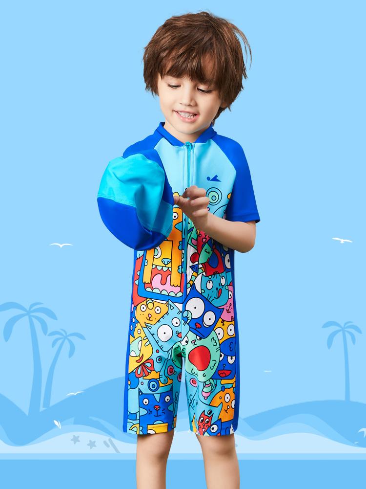 Y0515,图片3,儿童连体游泳衣