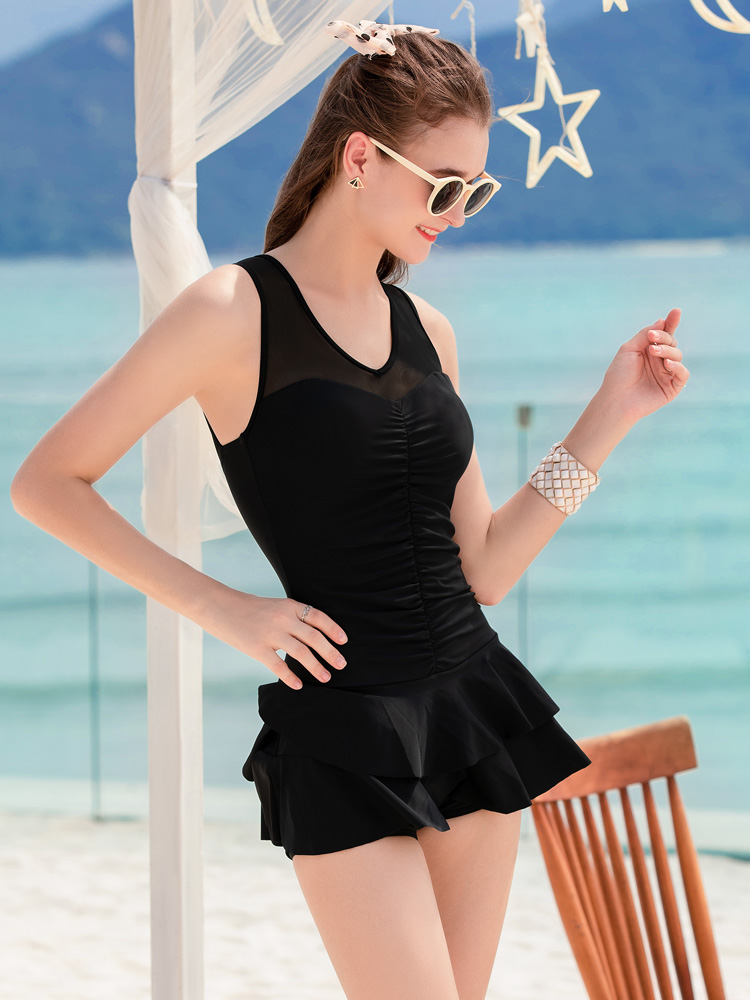 Y2125,图片2,连体裙式泳衣