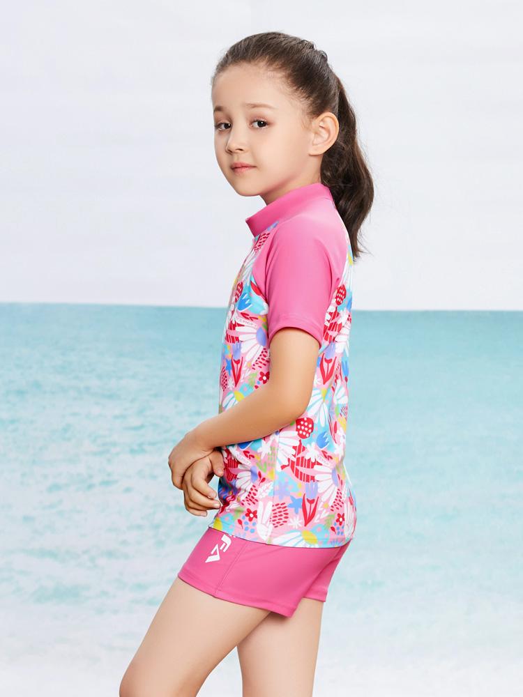 Y0377,图片3,女童分体泳装