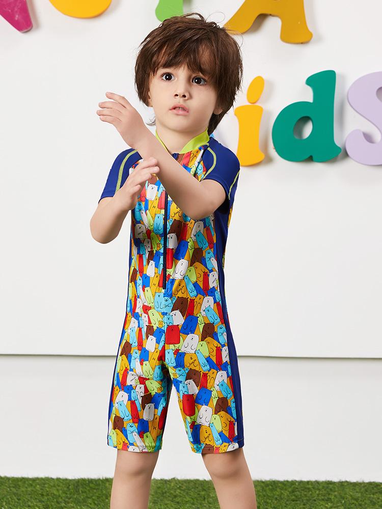 Y0511,图片1,卡通造型儿童套装