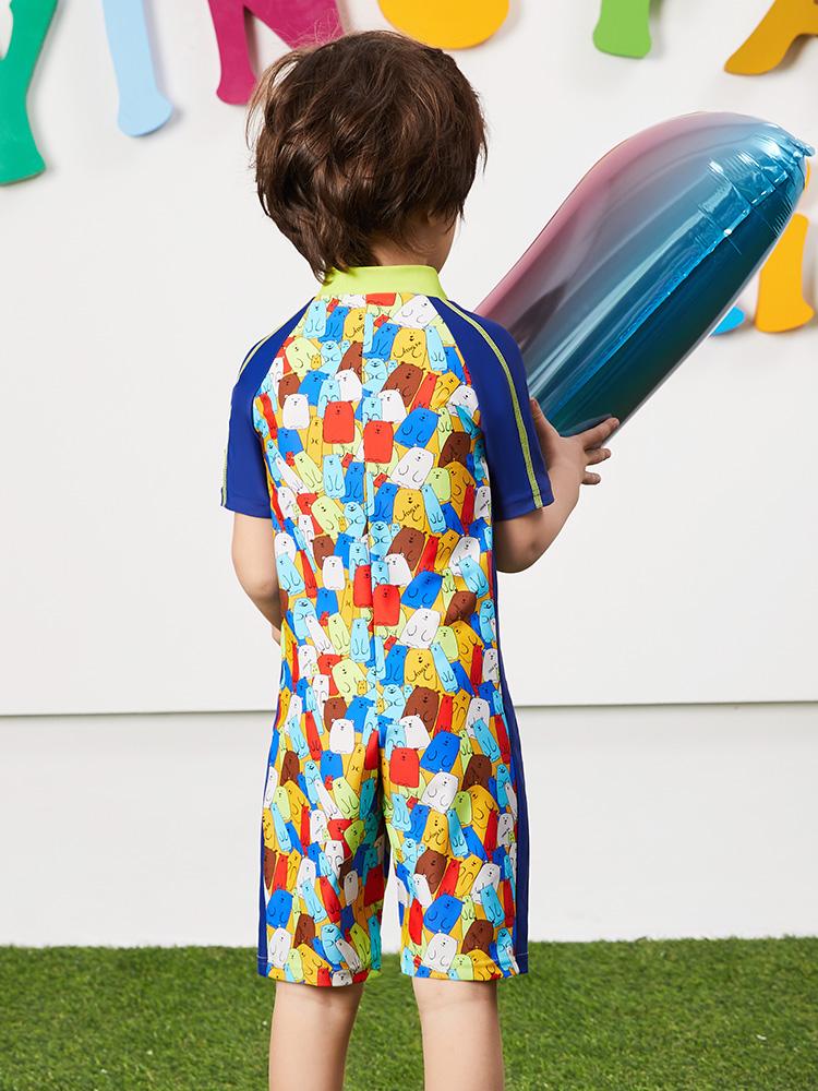 Y0511,图片3,卡通造型儿童套装