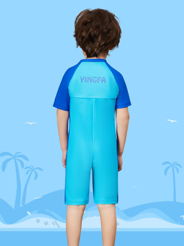 Y0515,图片2,儿童连体游泳衣