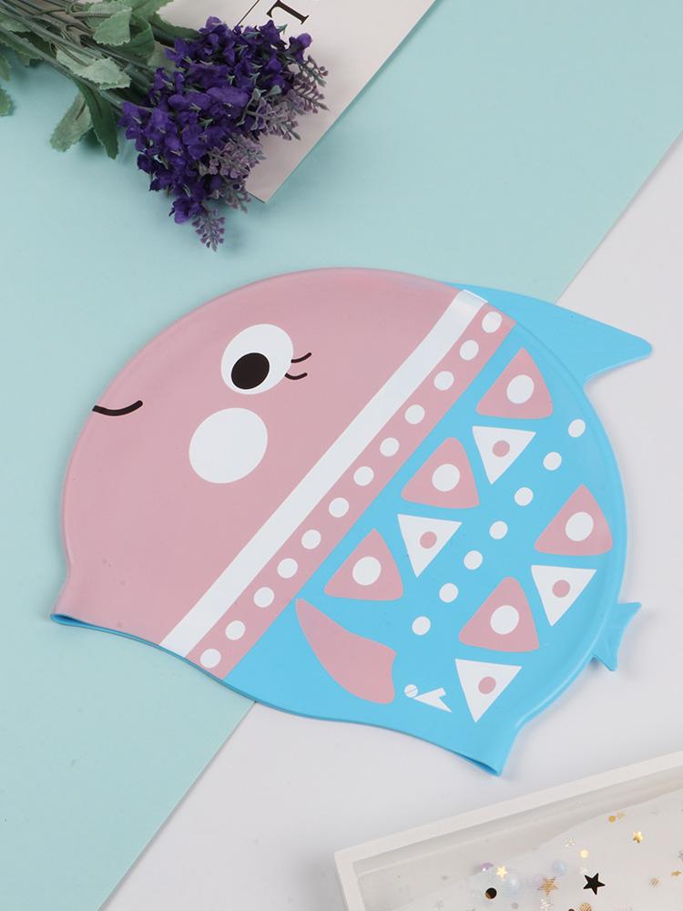 K0052,图片2,可爱卡通印花泳帽