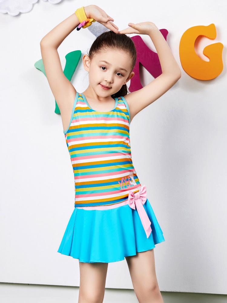 Y0369,图片2,儿童裙式泳衣