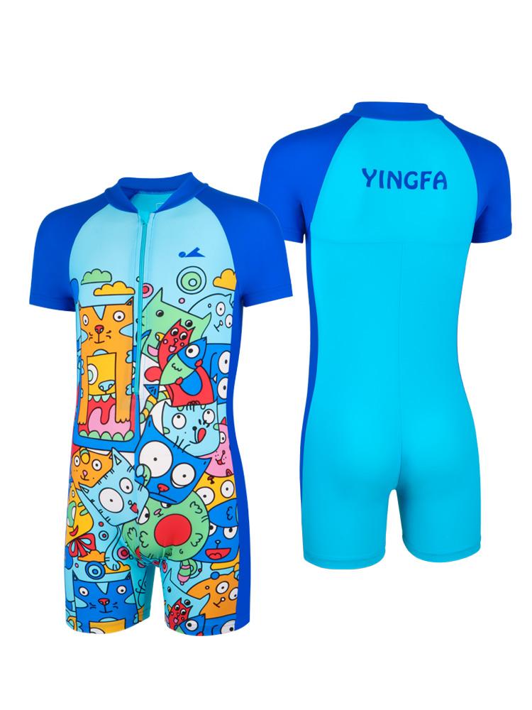 Y0515,图片4,儿童连体游泳衣
