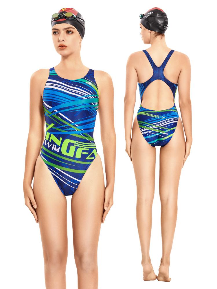 678,图片3,专业竞技三角连体泳衣