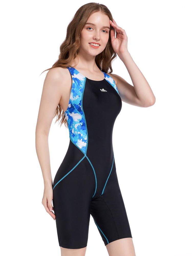 Y2127,图片2,休闲连体及膝泳衣