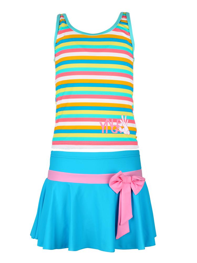 Y0369,图片4,儿童裙式泳衣
