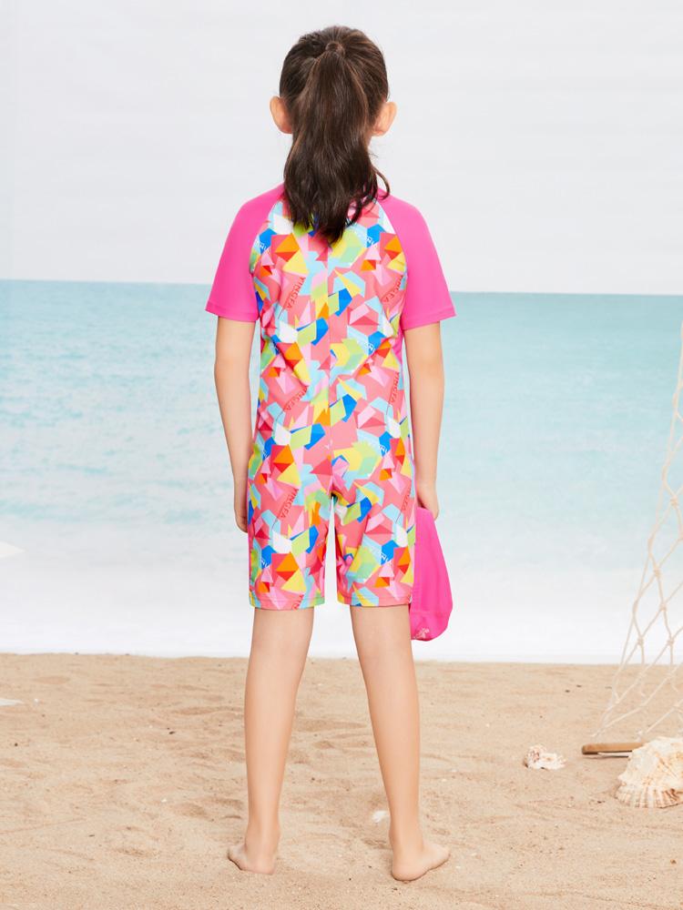 Y0389,图片2,短袖连体泳衣