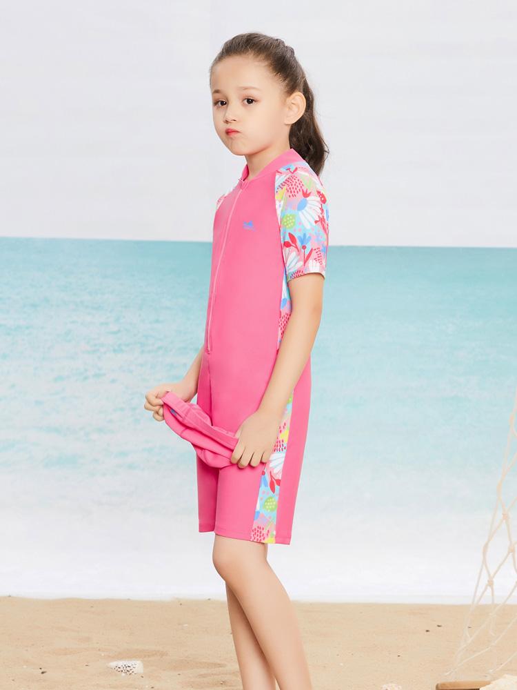 Y0398,图片3,儿童连体泳衣