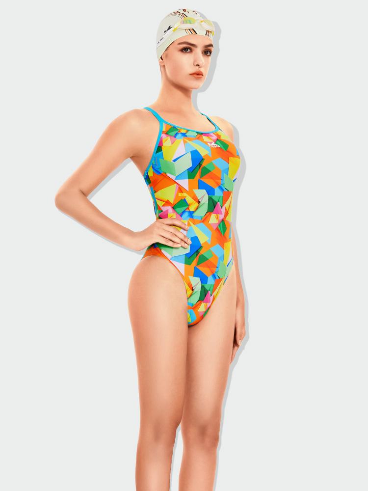 667,图片1,女士竞速三角泳衣