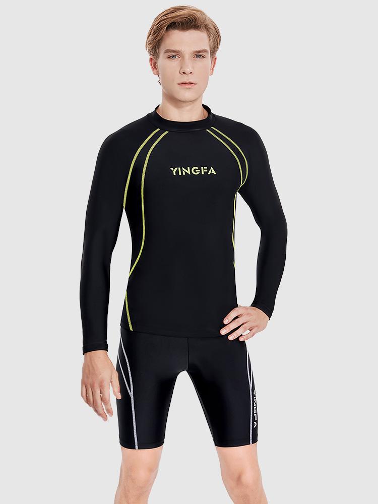 Y3912,图片1,休闲男士五分泳裤