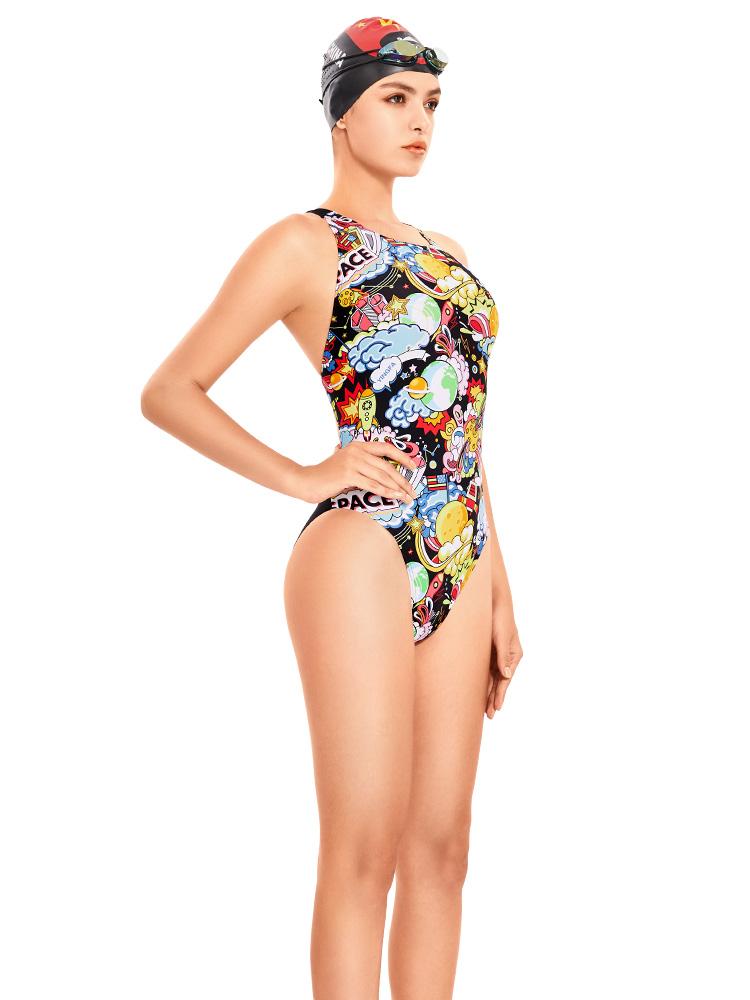 670,图片2,专业竞技连体三角泳衣