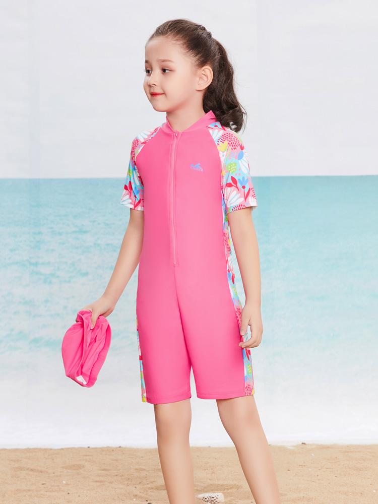 Y0398,图片1,儿童连体泳衣
