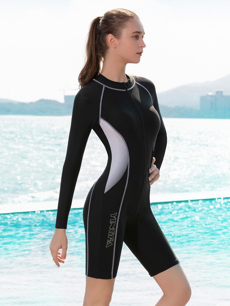 Y2135,图片3,休闲连体及膝泳衣