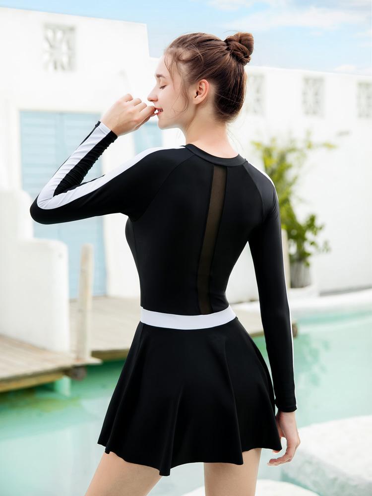 Y2115,图片3,连体裙式泳衣