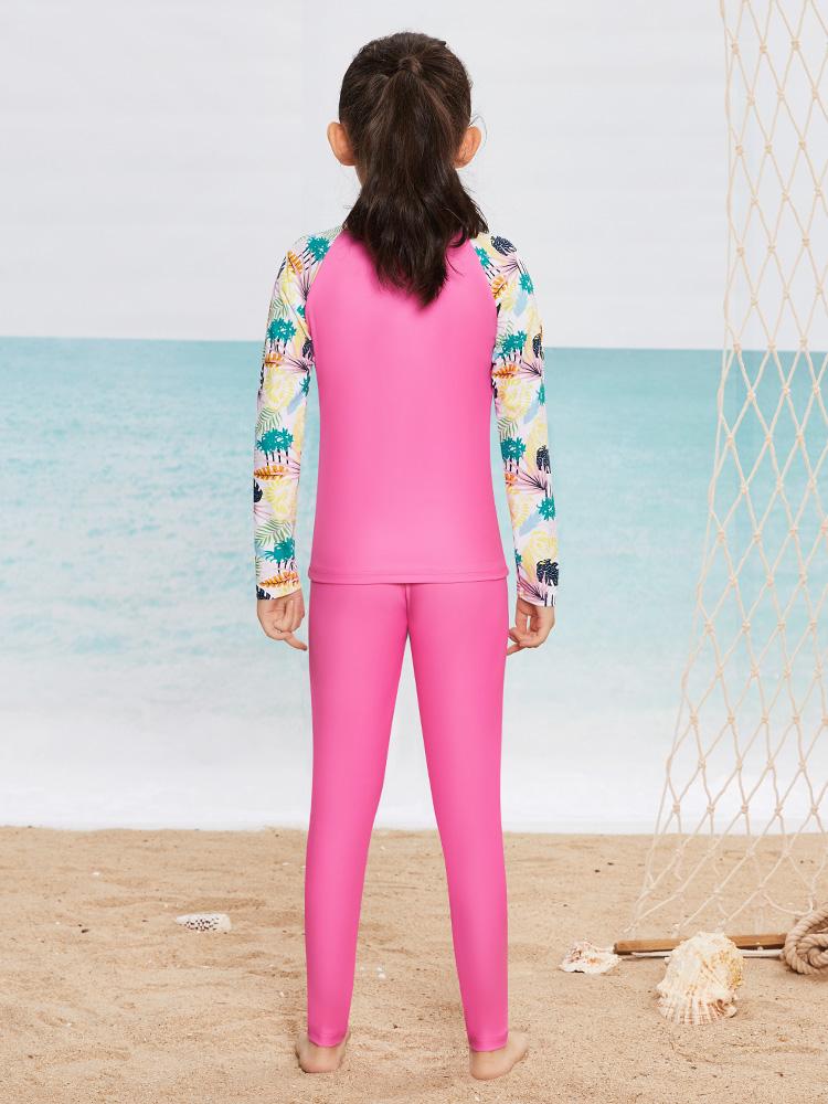 Y0501,图片3,女童分体泳衣