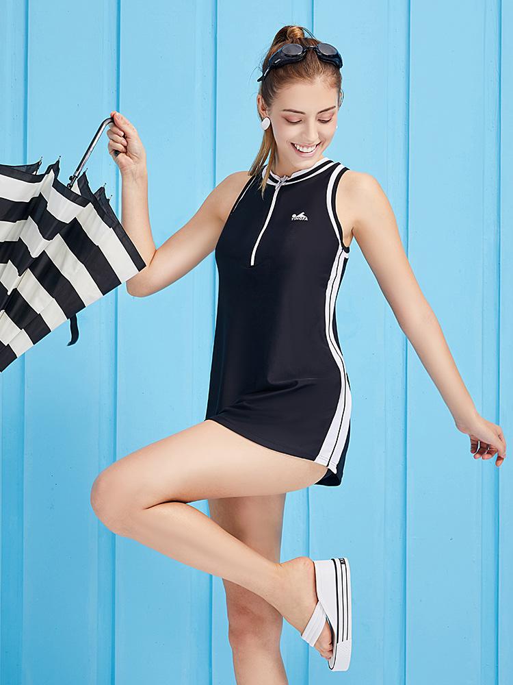 Y1935,图片1,休闲裙式泳衣