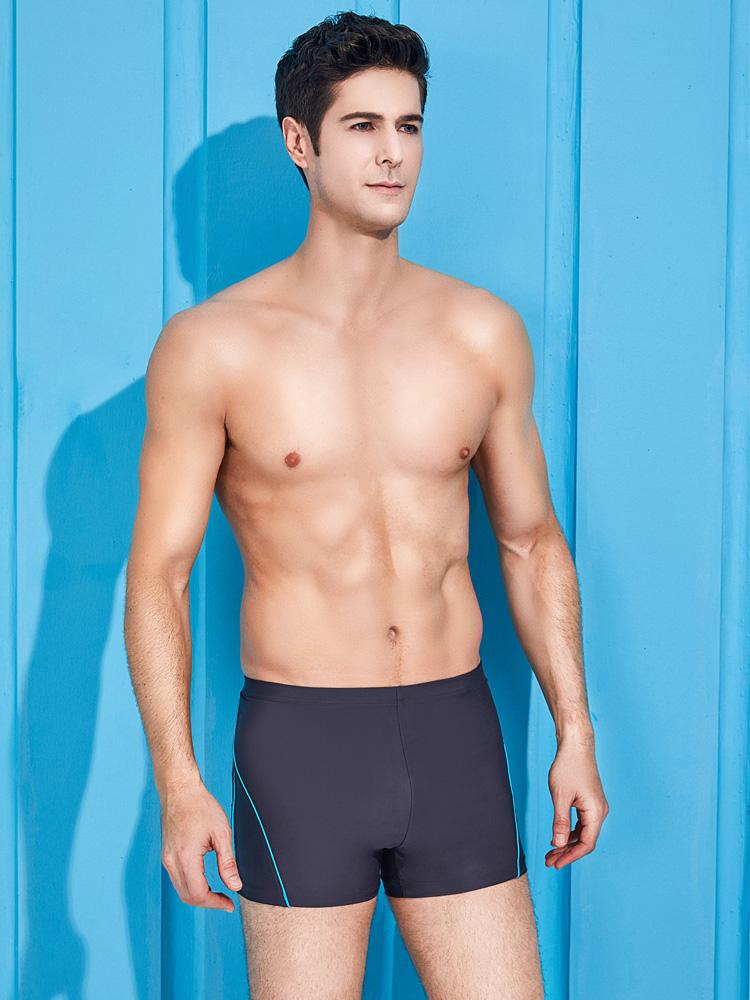 Y3901,图片3,休闲男士平角泳裤
