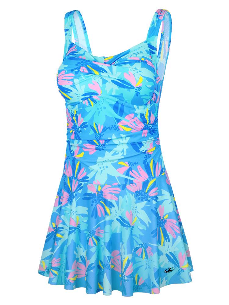 Y2029,图片4,休闲连体裙式泳衣