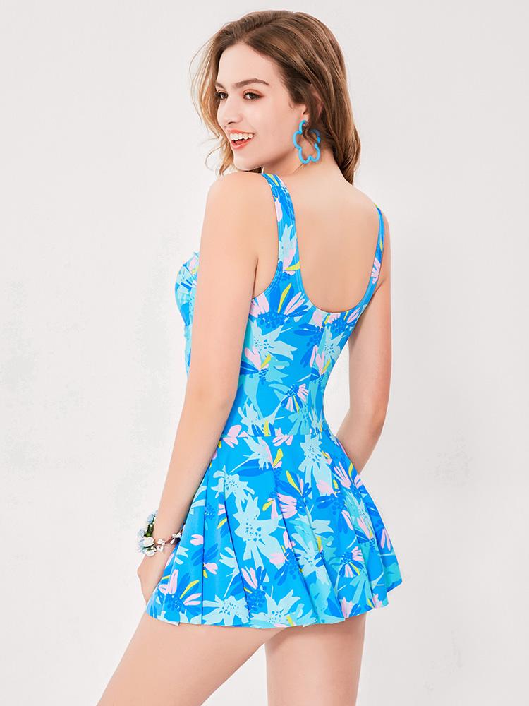 Y2029,图片3,休闲连体裙式泳衣