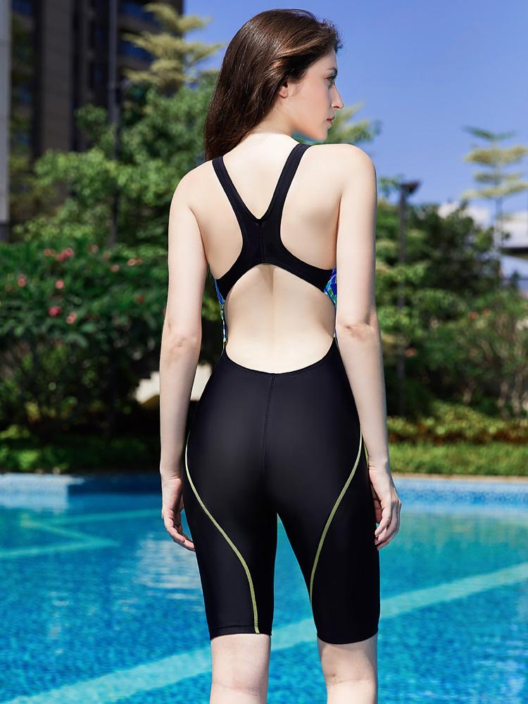 Y1918,图片2,休闲连体及膝泳衣