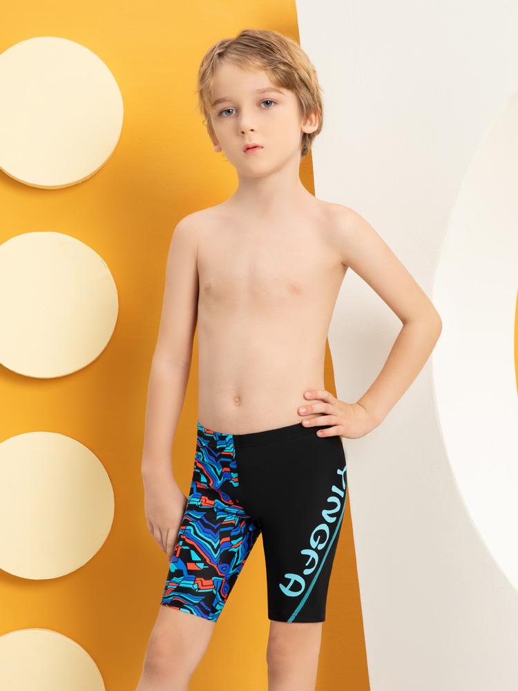 Y0256,图片3,男童及膝泳裤