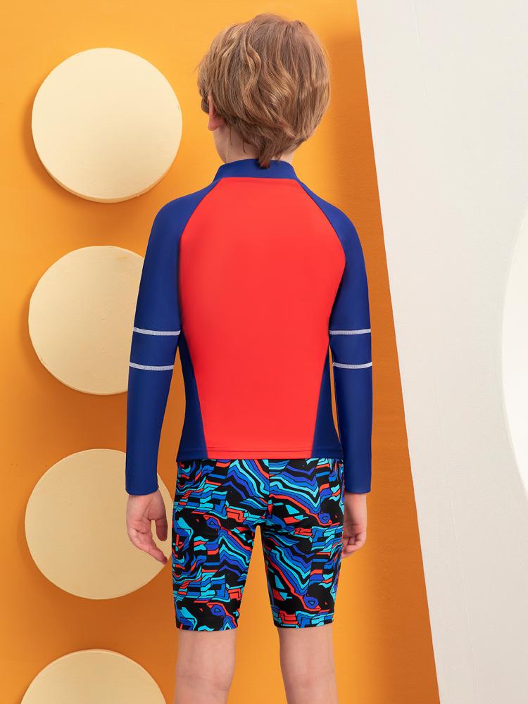Y0519,图片4,儿童卡通游泳衣