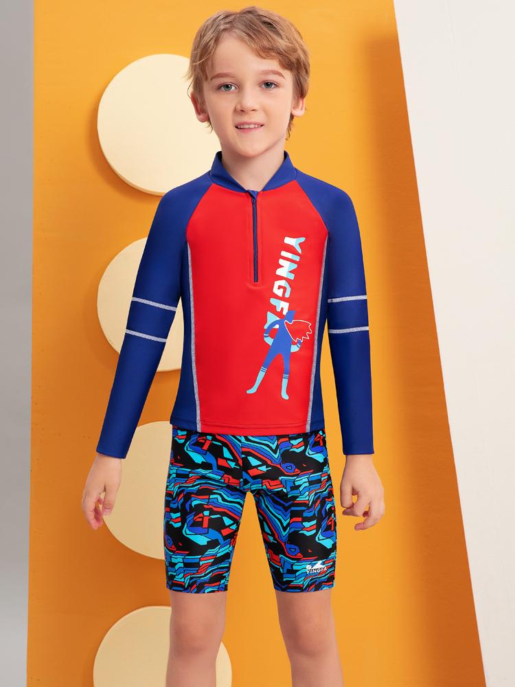 Y0519,图片2,儿童卡通游泳衣