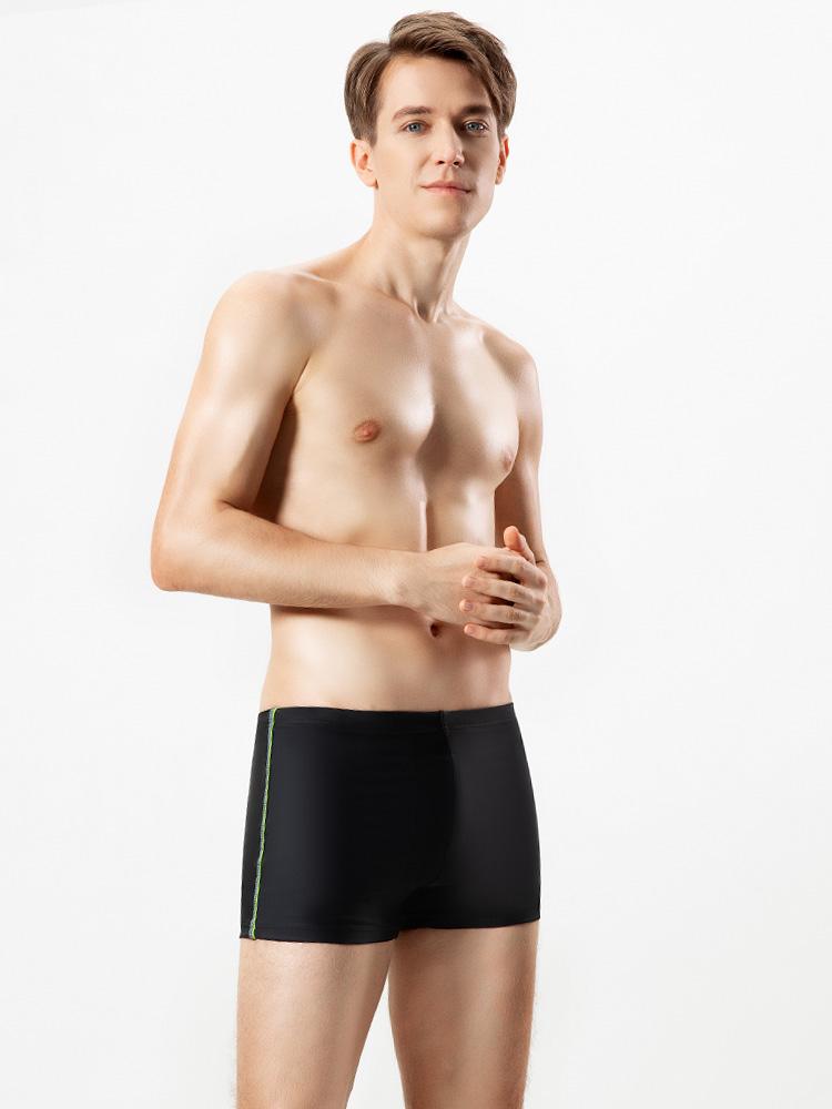 Y3919,图片3,平角防尴尬休闲泳裤