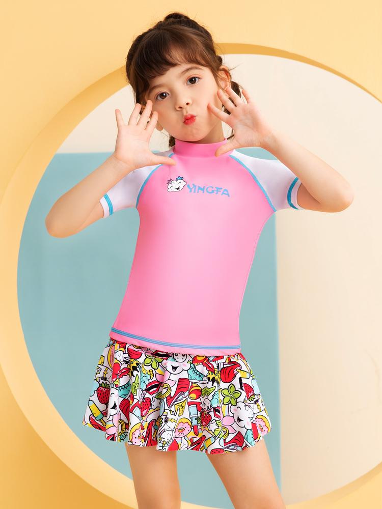 Y0528,图片1,儿童分体游泳衣