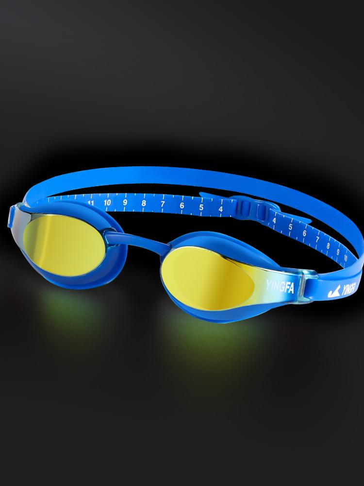 YF689AF(V),图片4,防雾高清电镀膜专业泳镜