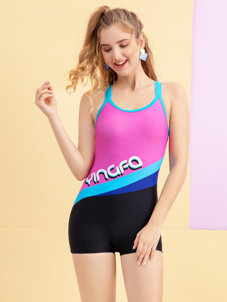 Y2105,图片2,连体平角泳衣