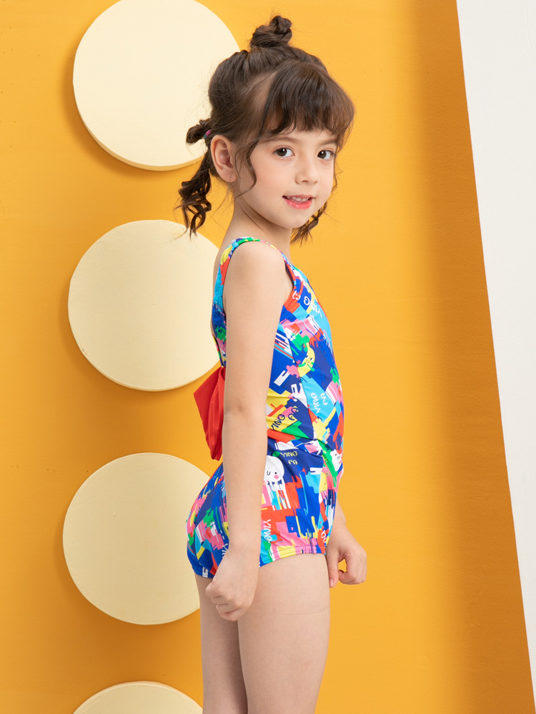 Y0393,图片3,可爱卡通游泳装
