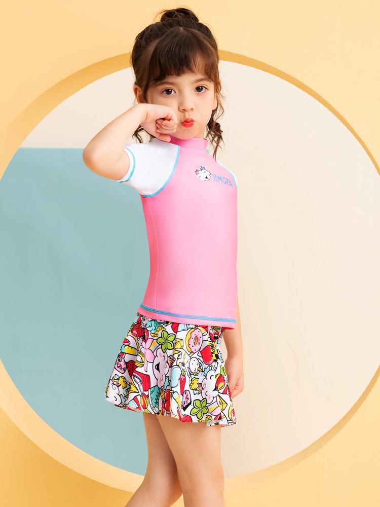 Y0528,图片3,儿童分体游泳衣
