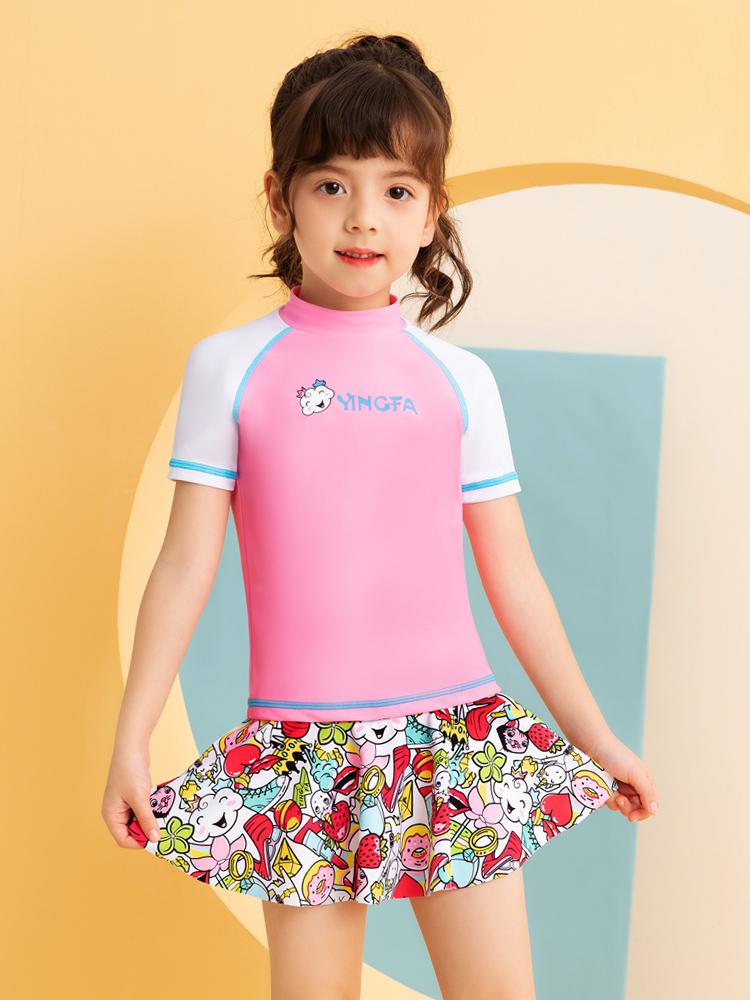 Y0528,图片2,儿童分体游泳衣