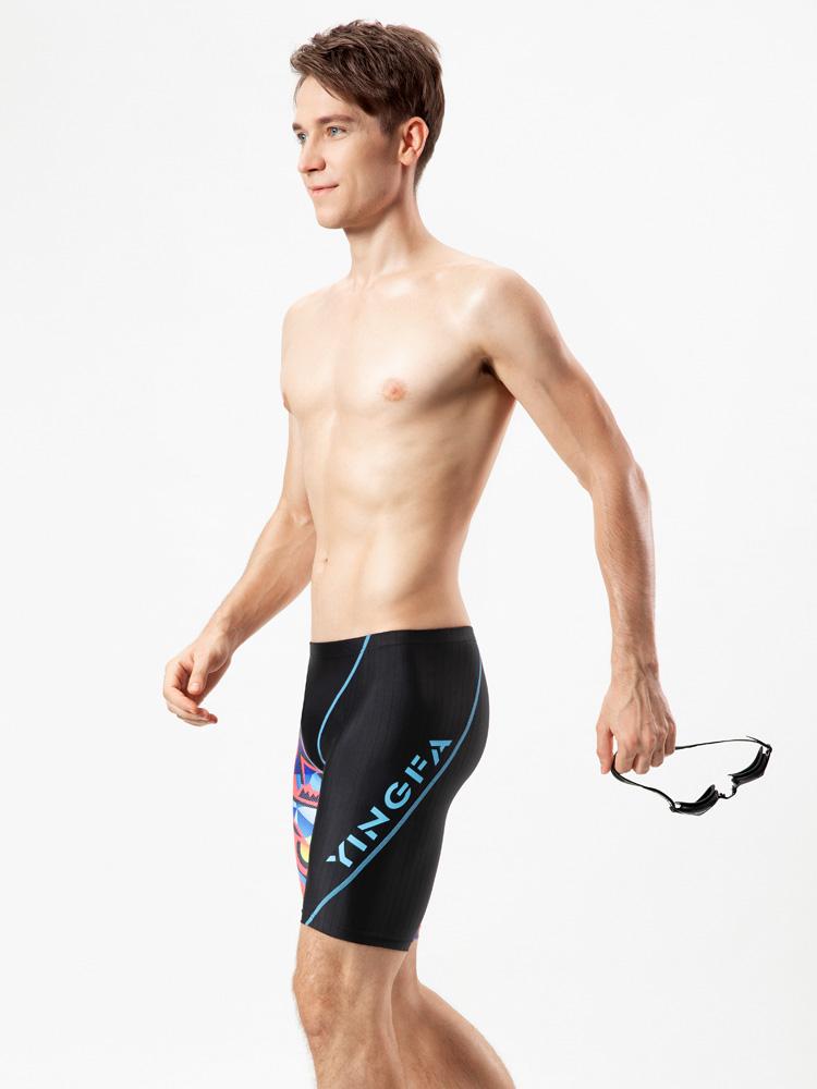 Y3926,图片1,男士及膝泳裤