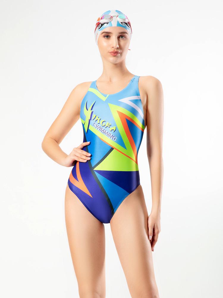 702,图片1,专业竞技三角连体泳衣