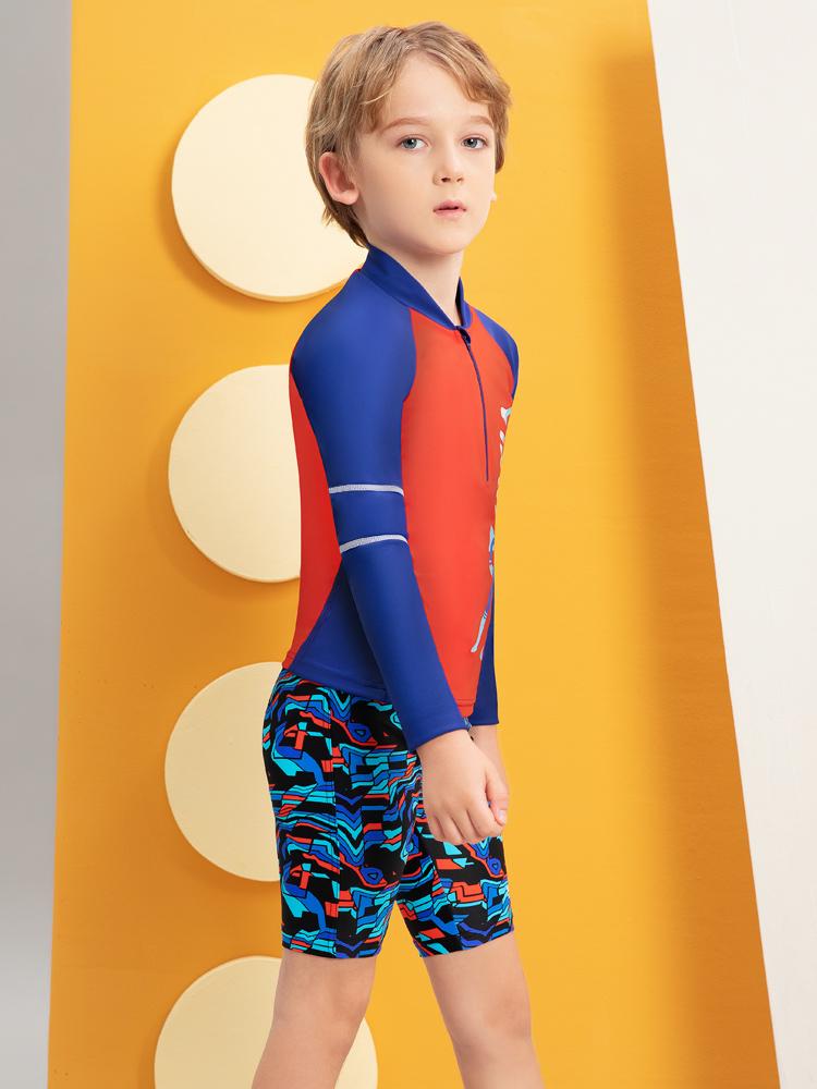 Y0519,图片1,儿童卡通游泳衣