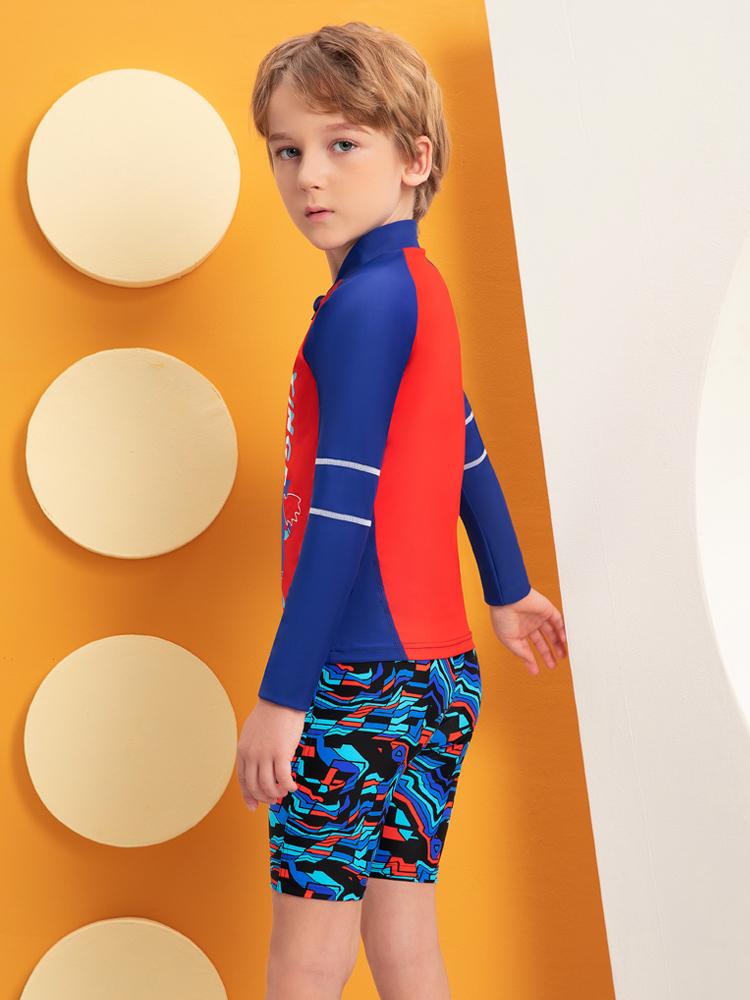 Y0519,图片3,儿童卡通游泳衣