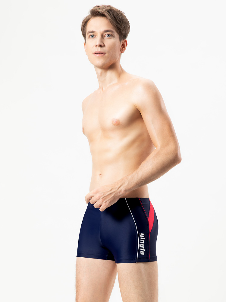 Y3917,图片3,休闲大码平角泳裤