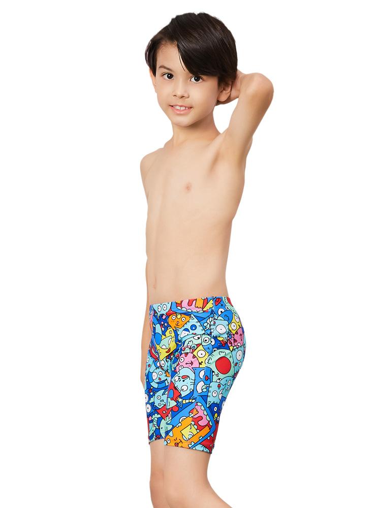 Y0237,图片4,儿童五分泳裤