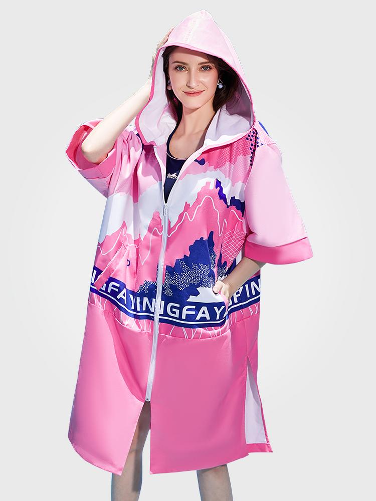 Y05,图片0,双面绒印花毛巾衣(女)