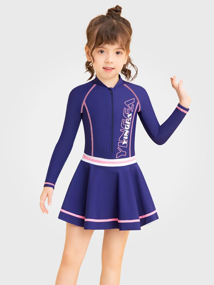 Y0522,图片0,儿童裙式游泳衣
