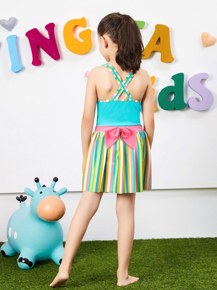 Y0387,图片2,可爱裙式泳装
