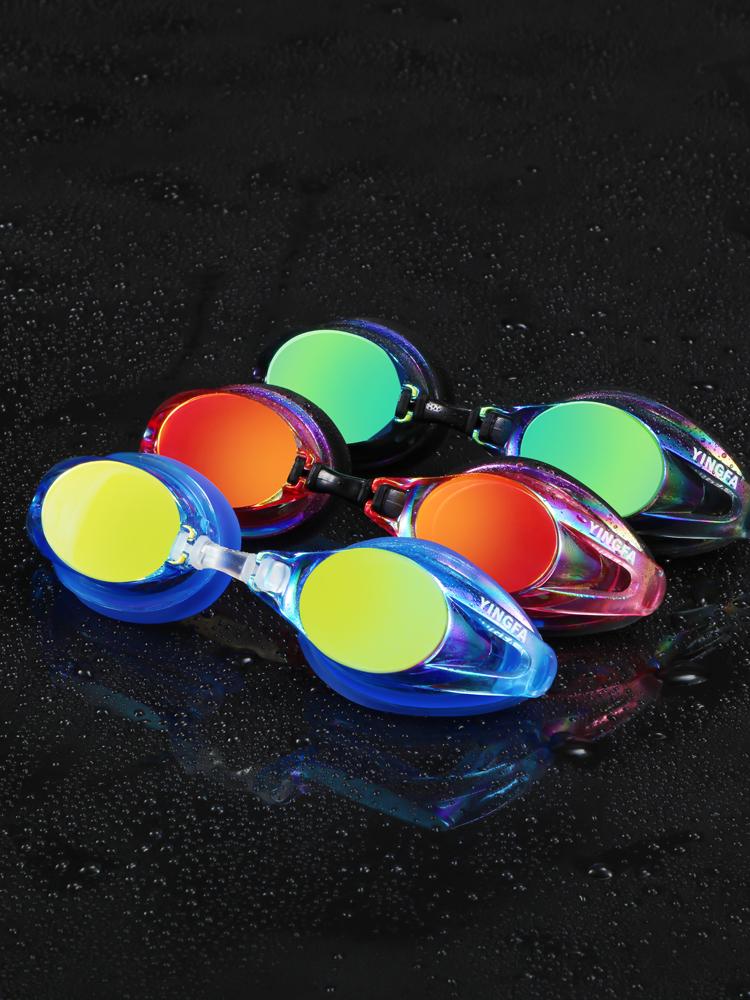 Y185AF(V),图片3,防雾炫彩电镀膜泳镜