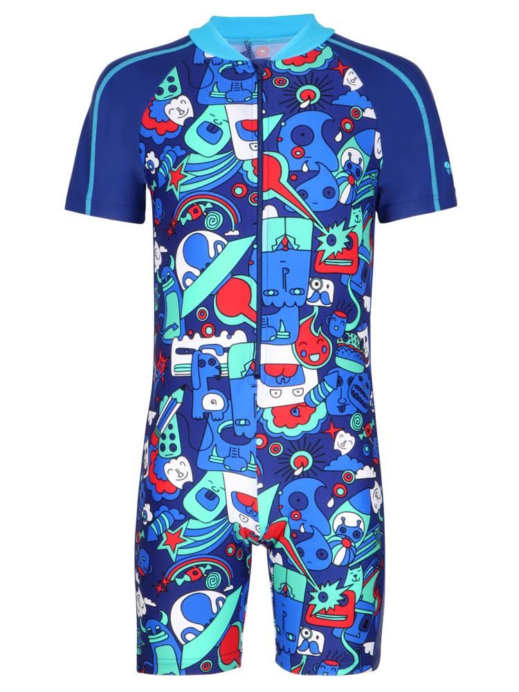 Y0507,图片4,男童连体游泳衣